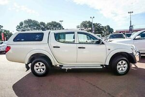 2015 Mitsubishi Triton MN MY15 GLX Double Cab White 5 Speed Manual Utility Westminster Stirling Area Preview