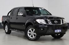 2013 Nissan Navara D40 MY12 ST-X 550 (4x4) Black 7 Speed Automatic Dual Cab Utility Bentley Canning Area Preview