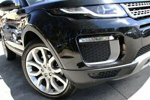 2016 Land Rover Evoque LV MY16.5 TD4 150 SE Black 9 Speed Automatic Wagon Petersham Marrickville Area Preview