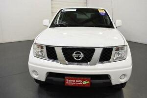 2012 Nissan Navara D40 S7 MY12 RX 4x2 White Automatic Utility Moorabbin Kingston Area Preview