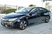2017 Honda Civic 10th Gen MY17 VTI-LX Black 1 Speed Constant Variable Sedan Belconnen Belconnen Area Preview