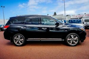 2014 Nissan Pathfinder R52 MY14 Ti X-tronic 2WD Black 1 Speed Constant Variable Wagon