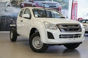 2017 Isuzu D-MAX MY17 SX Space Cab Splash White 6 Speed Sports Automatic Cab Chassis Rockingham Rockingham Area Preview