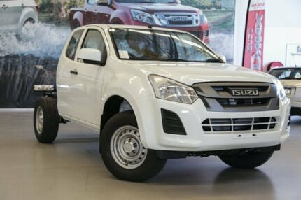 2017 Isuzu D-MAX MY17 SX Space Cab Splash White 6 Speed Sports Automatic Cab Chassis