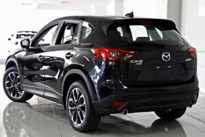 2017 Mazda CX-5 KE1022 Akera SKYACTIV-Drive i-ACTIV AWD Jet Black 6 Speed Sports Automatic Wagon