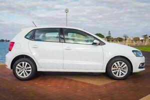 2015 Volkswagen Polo 6R MY15 81TSI DSG Comfortline White 7 Speed Sports Automatic Dual Clutch Bunbury Bunbury Area Preview