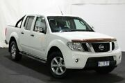 2013 Nissan Navara D40 S5 MY12 ST-X 550 White 7 Speed Sports Automatic Utility Glenorchy Glenorchy Area Preview