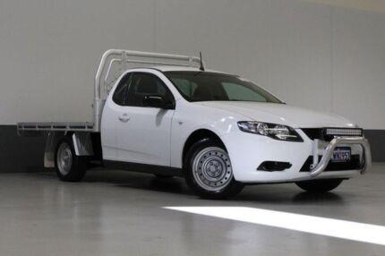 2008 Ford Falcon FG (LPG) White 4 Speed Auto Seq Sportshift Utility St James Victoria Park Area Preview