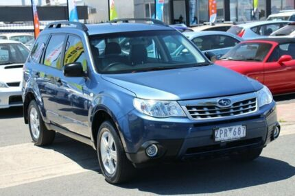 2012 Subaru Forester S3 MY12 X AWD Luxury Edition Blue 4 Speed Sports Automatic Wagon Heatherton Kingston Area Preview