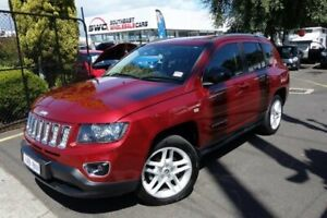 2013 Jeep Compass MK MY14 Limited Red 6 Speed Sports Automatic Wagon Seaford Frankston Area Preview