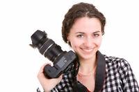 Photographe à temps-partiel
