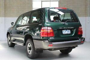 2001 Toyota Landcruiser HDJ100R GXL Green Manual Wagon Knoxfield Knox Area Preview