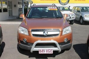 2006 Holden Captiva CG LX AWD Gold 5 Speed Sports Automatic Wagon Westcourt Cairns City Preview