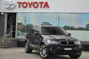2013 BMW X5 E70 MY12 xDrive 30D Edition Exclusive Black 8 Speed Sequential Auto Wagon Old Guildford Fairfield Area Preview