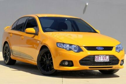 2013 Ford Falcon FG MkII XR6 Turbo Orange 6 Speed Sports Automatic Sedan Yeerongpilly Brisbane South West Preview