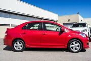 2007 Toyota Yaris NCP93R YRX Red 5 Speed Manual Sedan Cannington Canning Area Preview