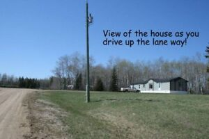 140 Acres with 2013 House