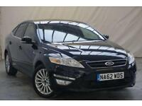 2012 Ford Mondeo 2.0 ZETEC BUSINESS EDITION TDCI 5d 138 BHP Diesel black Manual