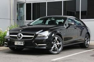 2011 Mercedes-Benz CLS500 C218 BlueEFFICIENCY Coupe 7G-Tronic Black 7 Speed Sports Automatic Sedan Hilton West Torrens Area Preview