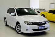 2010 Subaru Impreza G3 MY10 RS AWD White 5 Speed Manual Hatchback Myaree Melville Area Preview