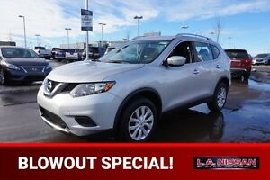 2015 Nissan Rogue S AWD Accident Free,  Back-up Cam,  Bluetooth,