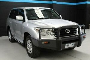 2008 Toyota Landcruiser Silver Sports Automatic Wagon Knoxfield Knox Area Preview