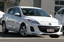 2013 Mazda 3 BL10F2 MY13 Neo White 6 Speed Manual Hatchback Tweed Heads South Tweed Heads Area Preview