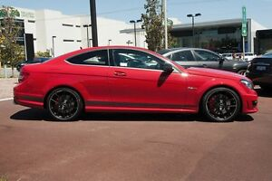 2013 Mercedes-Benz C63 C204 MY13 AMG SPEEDSHIFT MCT Edition 507 Red 7 Speed Sports Automatic Coupe Osborne Park Stirling Area Preview