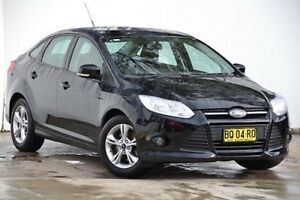 2012 Ford Focus LW MKII Trend PwrShift Black 6 Speed Sports Automatic Dual Clutch Sedan Blacktown Blacktown Area Preview