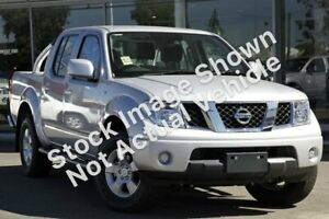 2011 Nissan Navara D40 ST Silver 6 Speed Manual Utility Kenwick Gosnells Area Preview