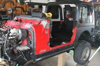 Project Build Great condition 2005 Jeep TJ Tub lots extras.