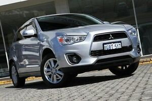 2012 Mitsubishi ASX Silver Constant Variable Wagon St James Victoria Park Area Preview