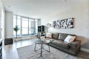 Lovely modern 1 bedroom + den condo for rent