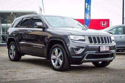 2015 Jeep Grand Cherokee WK MY15 Limited Granite Crystal Metallic 8 Speed Sports Automatic Wagon