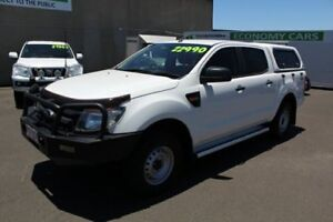 2012 Ford Ranger PX XL Double Cab White 6 Speed Manual Utility