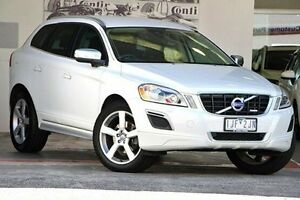 2013 Volvo XC60 DZ MY13 D5 Geartronic AWD R-Design White 6 Speed Sports Automatic Wagon Doncaster Manningham Area Preview