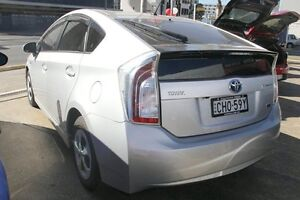 2012 Toyota Prius ZVW30R MY12 Hybrid Silver Continuous Variable Hatchback