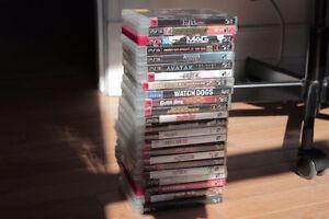 Lot de 25 Jeux de PS3 Games
