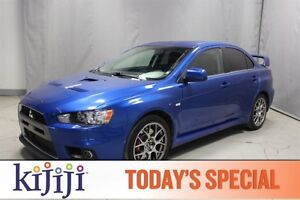 2008 Mitsubishi Lancer AWC EVOLUTION MR Heated Seats,  A/C,