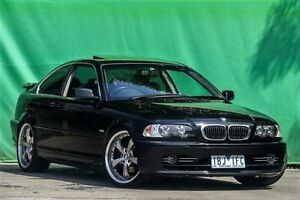 2003 BMW 325CI E46 MY2003 Steptronic Black 5 Speed Sports Automatic Coupe Ringwood East Maroondah Area Preview