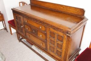 Oak Buffet-Sideboard