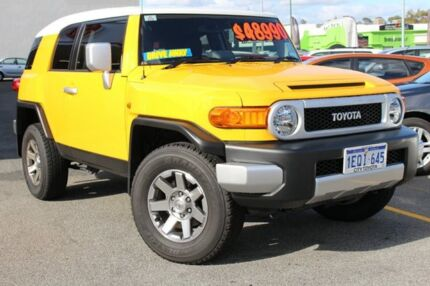 2014 Toyota FJ Cruiser GSJ15R MY14 Hornet Yellow 5 Speed Automatic Wagon Claremont Nedlands Area Preview