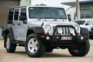 2011 Jeep Wrangler JK MY2010 Unlimited Sport Silver 4 Speed Automatic Softtop