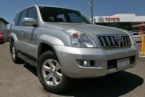 2005 Toyota Landcruiser Prado GRJ120R GXL Silver 5 Speed Automatic Wagon Keysborough Greater Dandenong Preview
