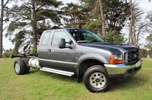 2005 Ford F350 RN XL (4x4) Grey 4 Speed Automatic Officer Cardinia Area Preview