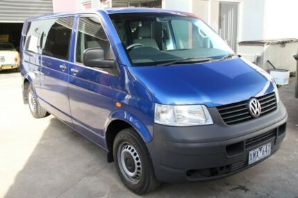 2005 Volkswagen Transporter AUTOMATIC Blue 5 Speed Automatic Van Carrum Downs Frankston Area Preview