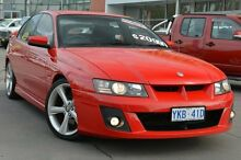2005 Holden Special Vehicles Clubsport Z Series Red 4 Speed Automatic Sedan Pearce Woden Valley Preview