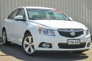 2013 Holden Cruze JH Series II MY13 Equipe White 6 Speed Sports Automatic Sedan Valley View Salisbury Area Preview