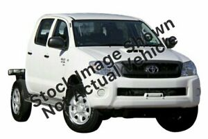 2011 Toyota Hilux KUN26R MY10 SR White 5 Speed Manual Cab Chassis Balcatta Stirling Area Preview