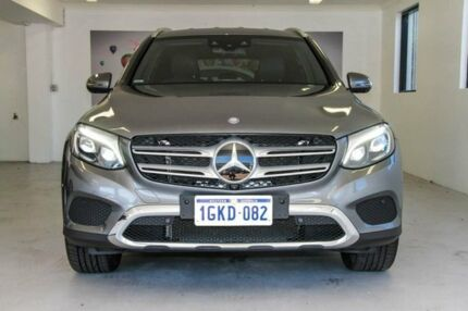 2016 Mercedes-Benz GLC250 X253 807MY 9G-TRONIC 4MATIC Grey 9 Speed Sports Automatic Wagon Willagee Melville Area Preview